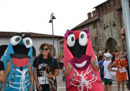 Fit & Walky mascotte della Fitwalking solidale Busca